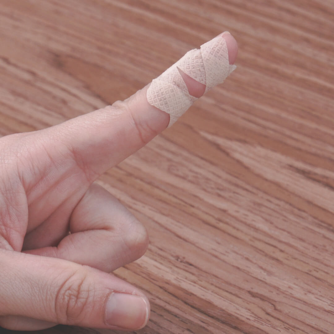 絆創膏が剥がれにくくなる!覚えておきたい貼り方テクニック
