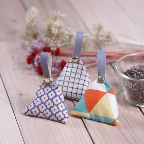 お気に入りの布で!手作り「サシェ」の作り方