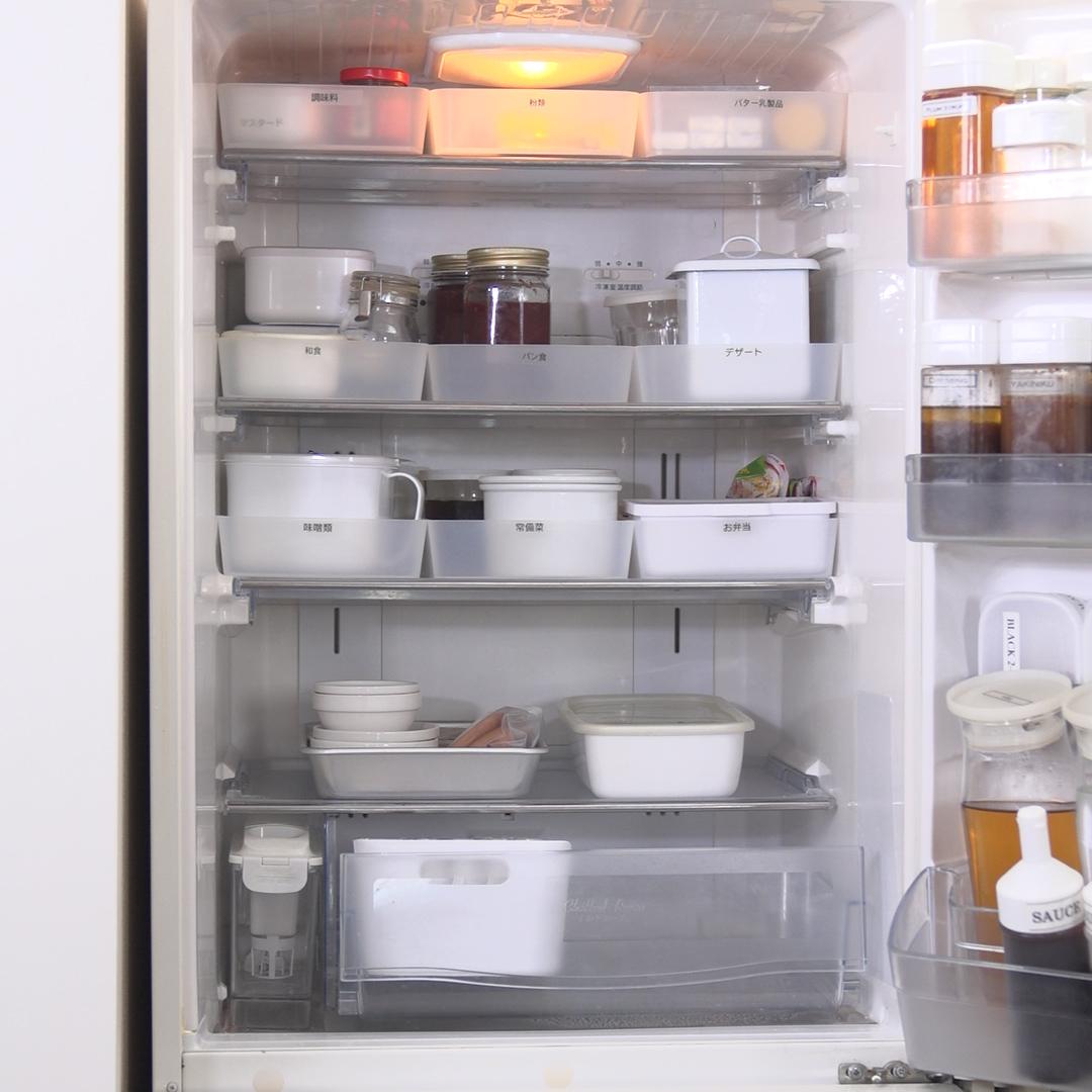 冷蔵庫のスッキリ整理整頓ポイント!ごちゃつく原因と解決法