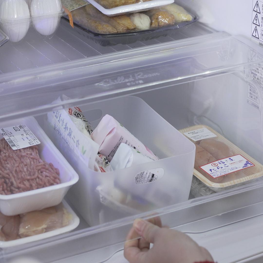 一目瞭然。欲しいものがすぐ取り出せる「冷蔵庫の収納テク」