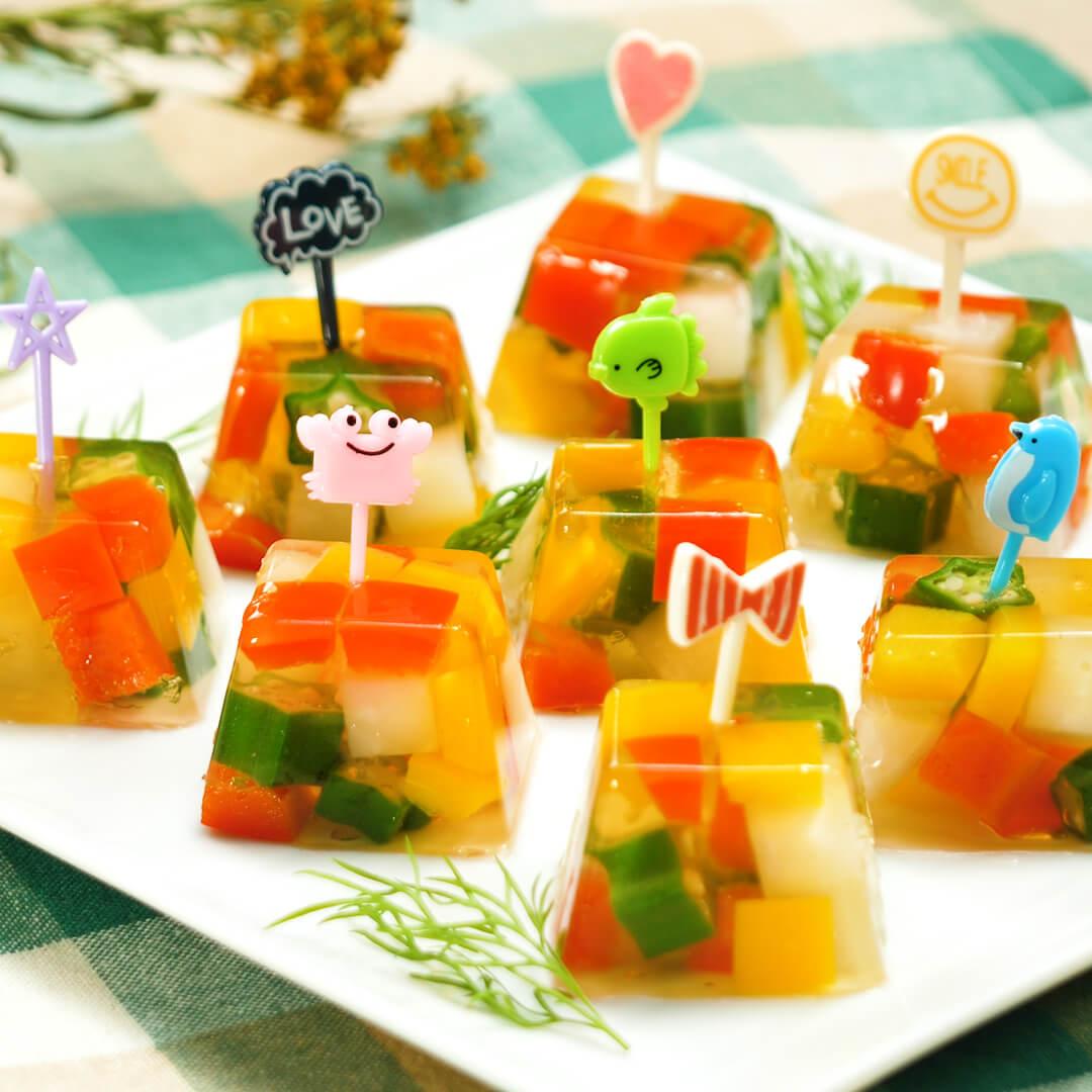 簡単かわいい♪ 製氷皿で作る「ひとくちレシピ」おすすめ3選