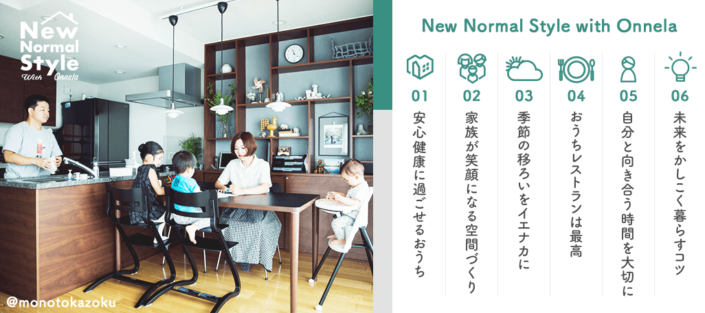 New Normal Style with Onnela
