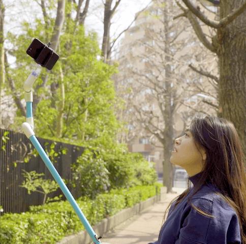 動画撮影に便利!自動でぐるぐる回る【自撮り棒】の作り方