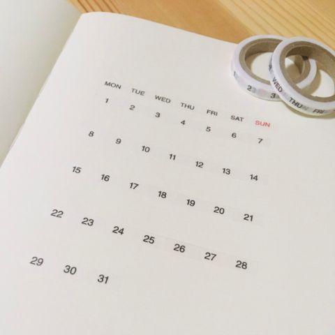 ちょっと差がつく。おしゃれな「手作りカレンダー」アイデア10選