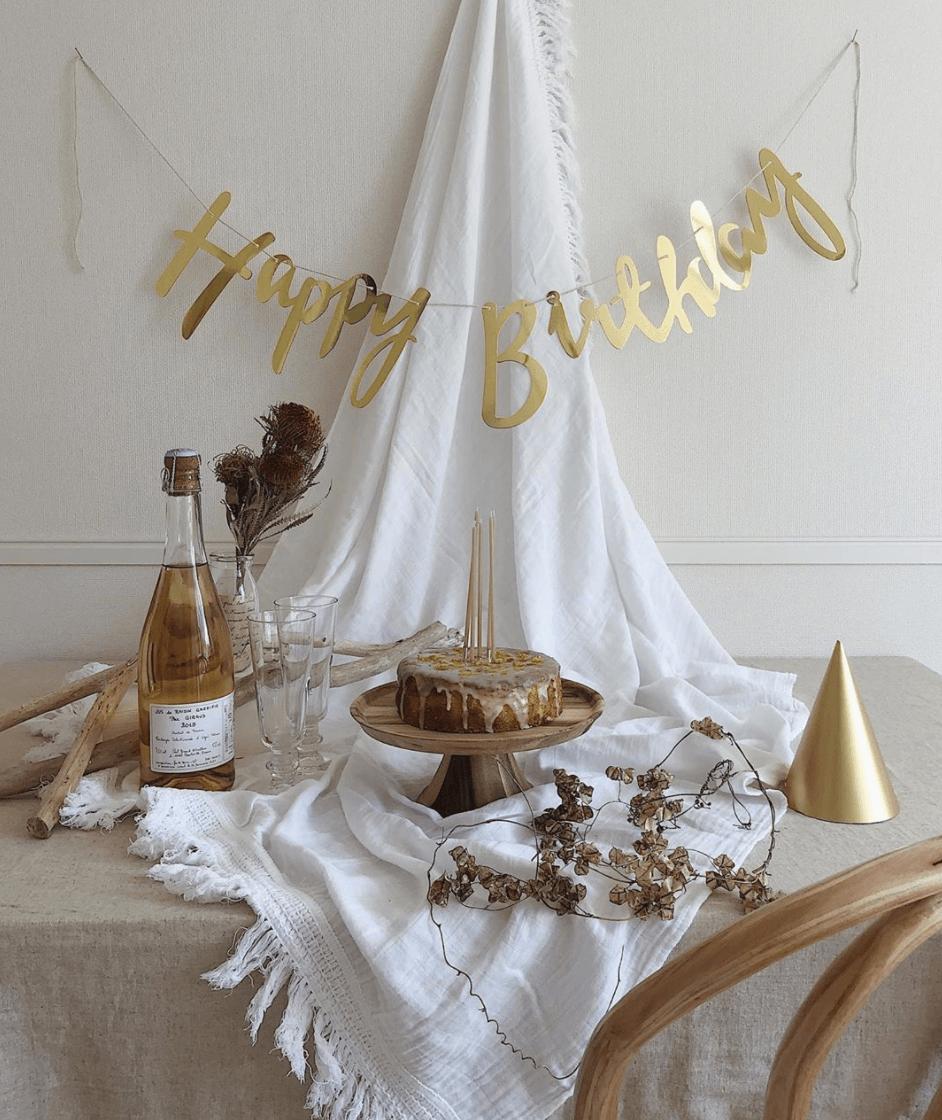 特別感を演出!おしゃれでマネしたくなる「誕生日の飾り付け」9選