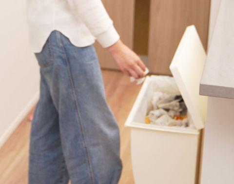 ゴミ箱のニオイ対策