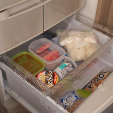 冷凍室のニオイ対策