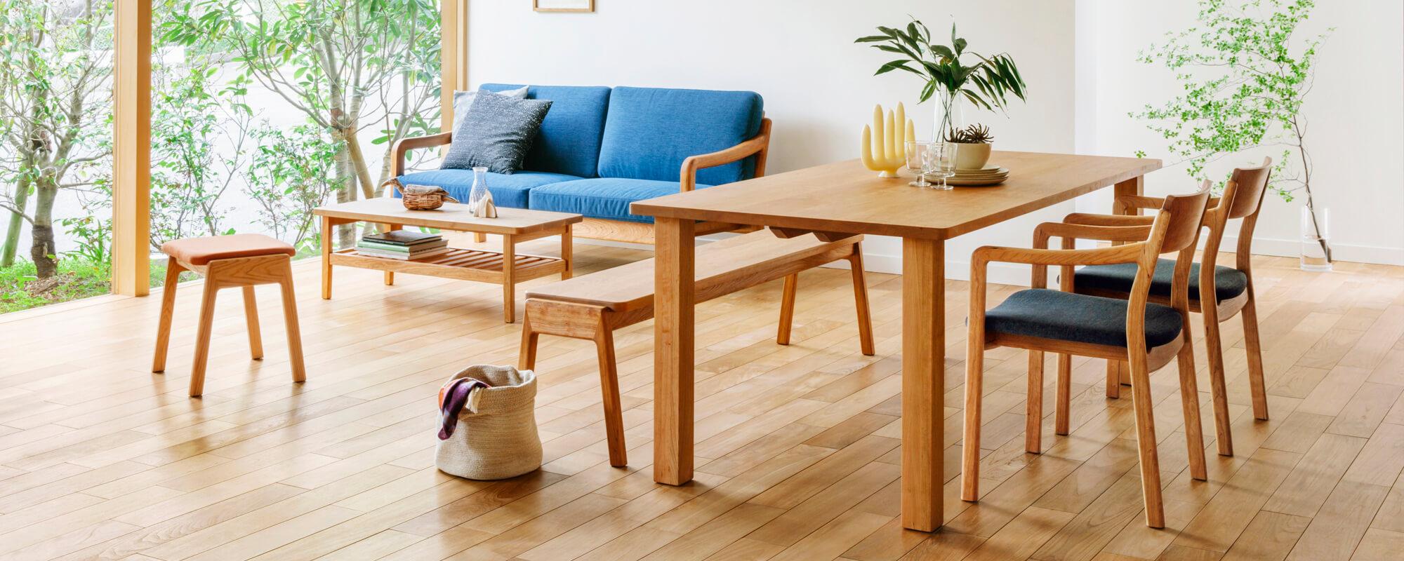 オーダーで叶える理想のテーブル。暮らしに合わせたテーブルサイズの決め方とは