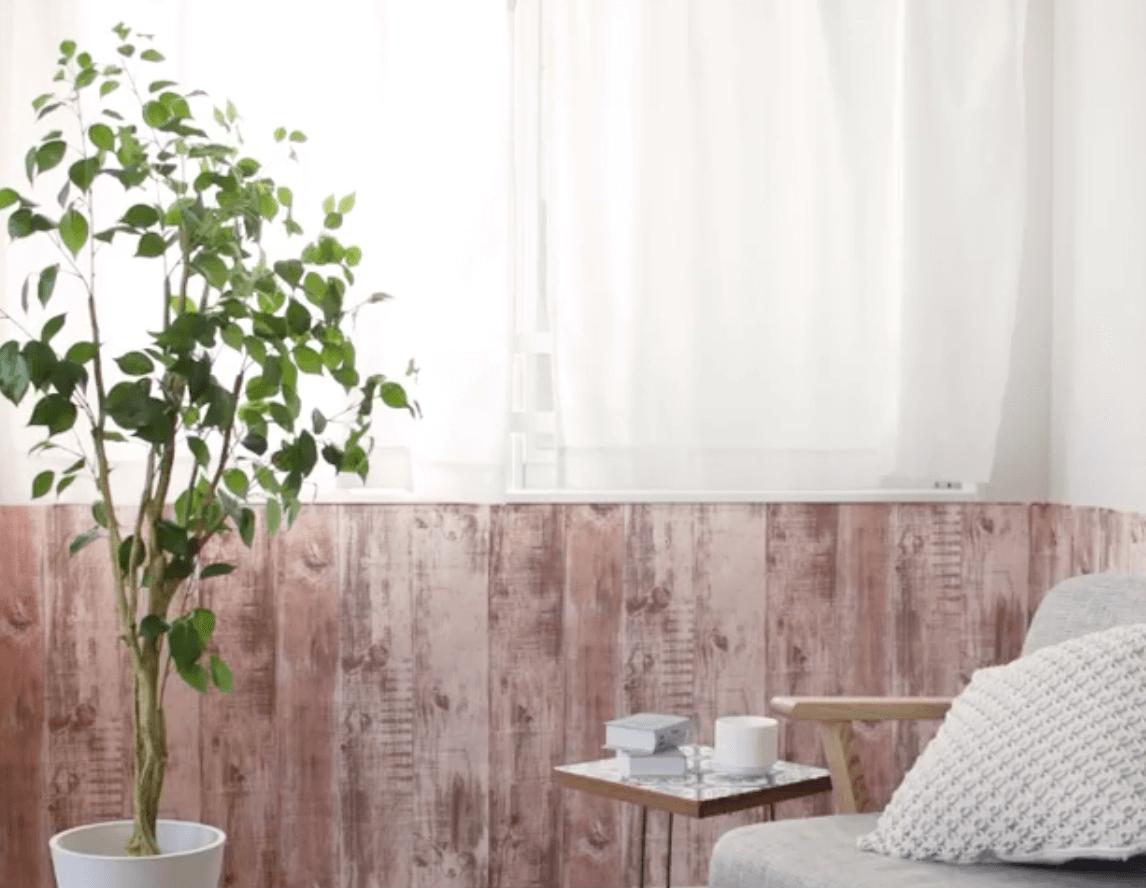 初心者OK♪ アサヒペンの「フリース製カベ紙」で腰壁風DIYに挑戦