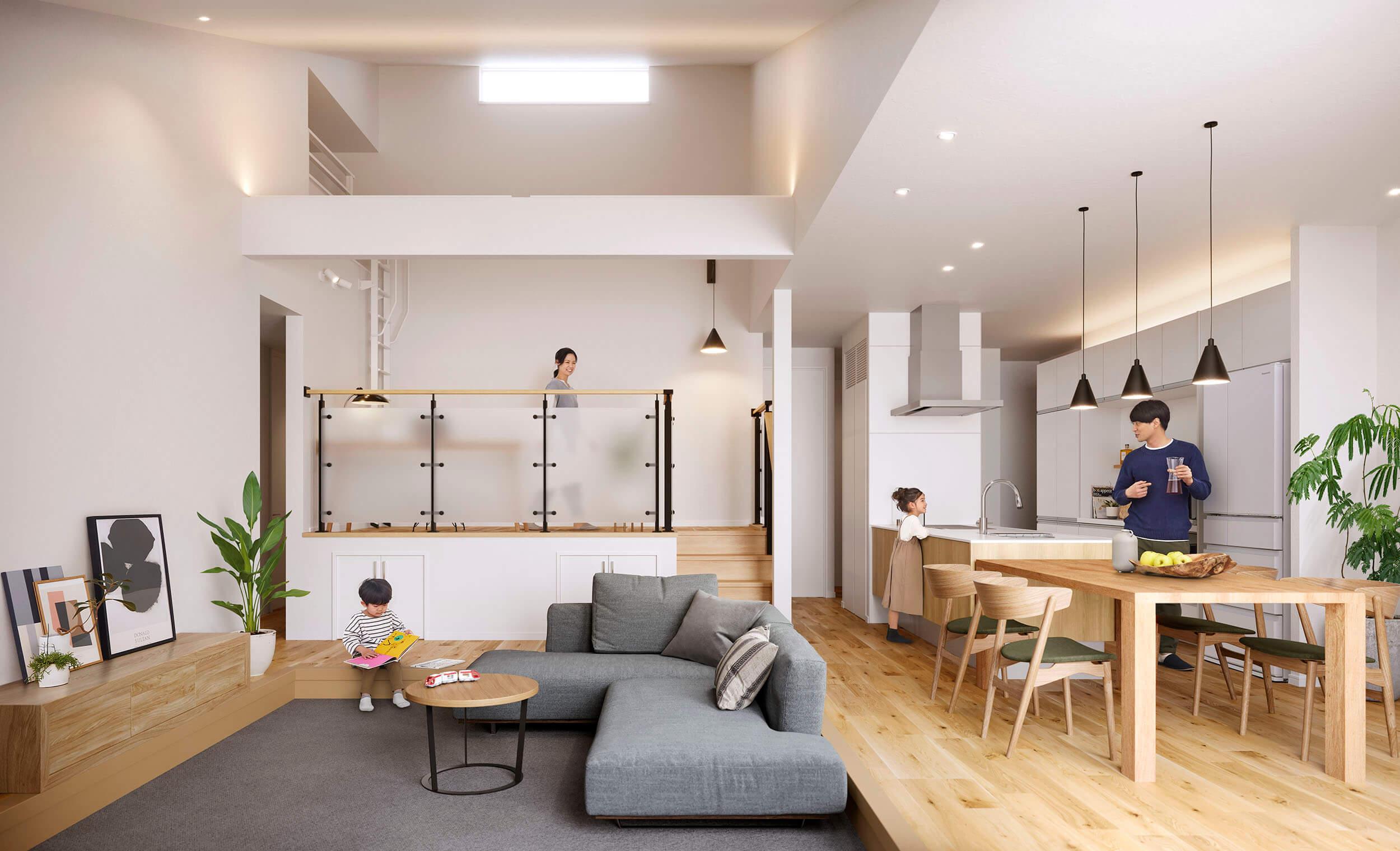 「家族が居場所を持ちながら繋がる」パナソニック ホームズの新しい家づくり