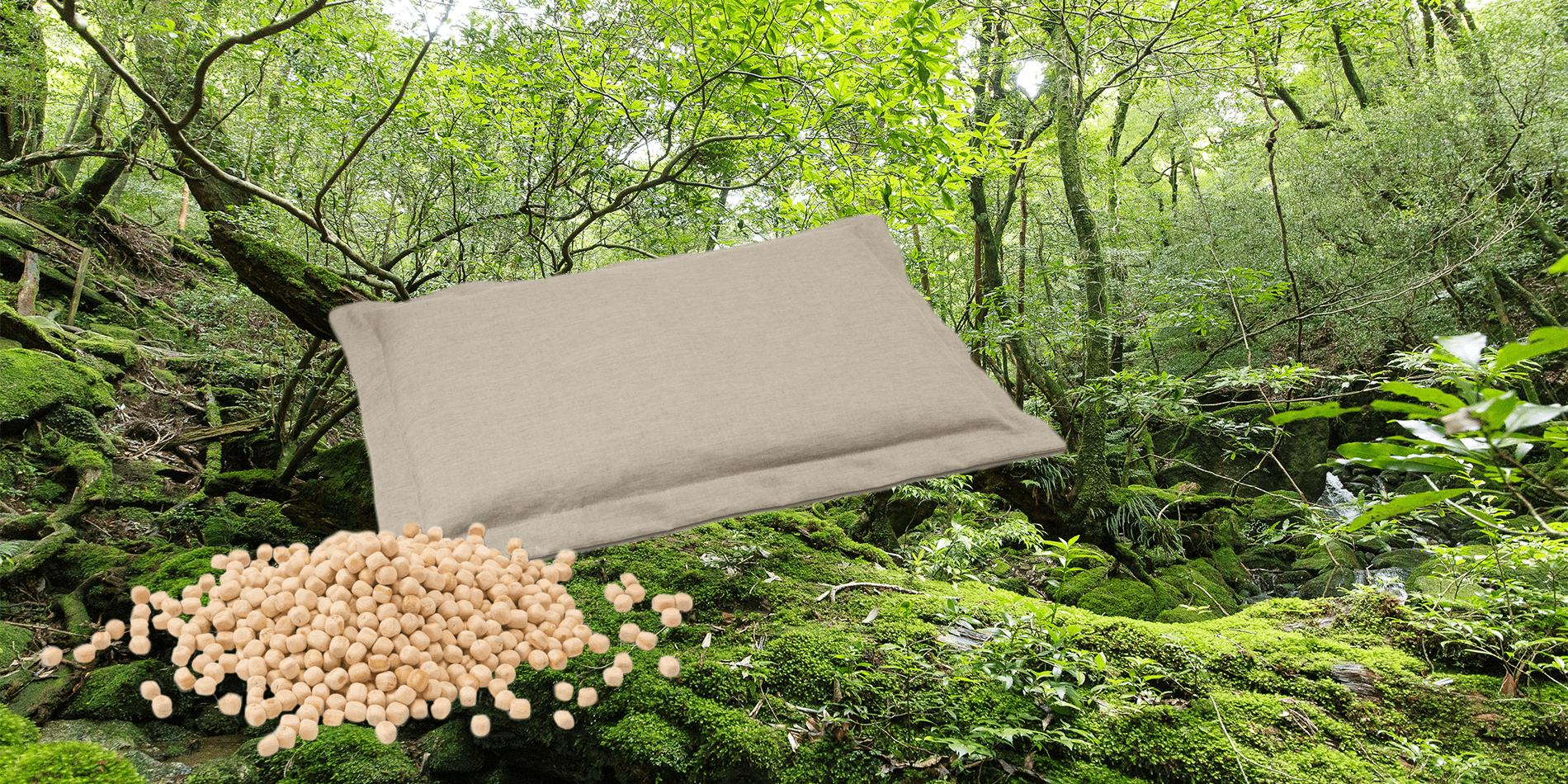 フィトンチッドの効果を睡眠に。「森のまくら」で快眠を手に入れよう